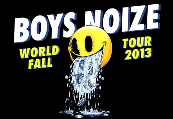 Boys Noize World Tour