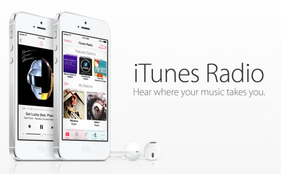 Apple Launches Streaming Music Service, iTunes Radio