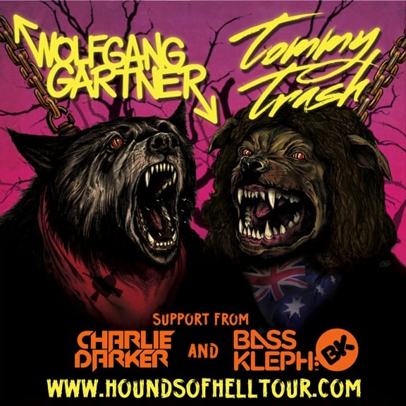 Tommy Trash and Wolfgang Gartner Announce Special Guests on Tour