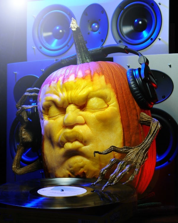 9 EDM Inspired Pumpkins For Halloween