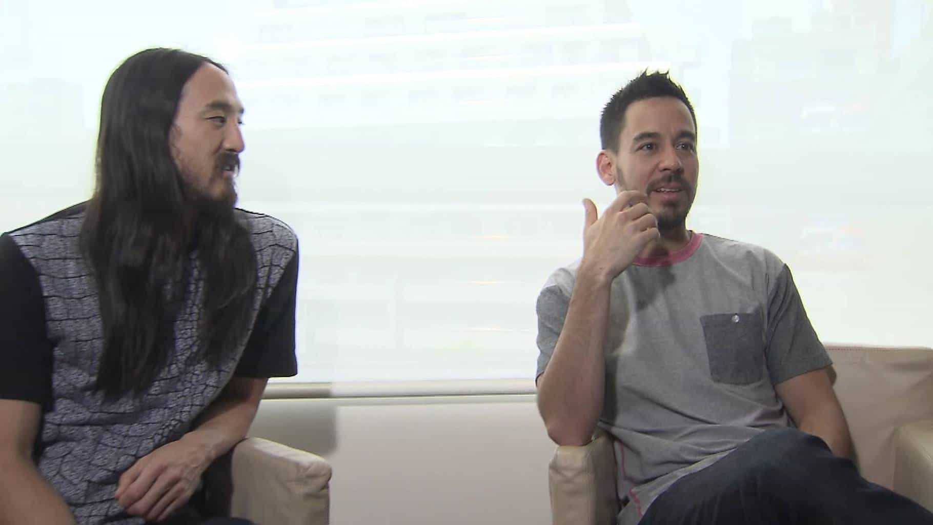 Linkin Park's Mike Shinoda Talks About Collaborating With Steve Aoki