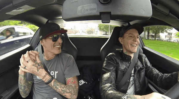Deadmau5 And Tommy Lee Go On A Coffee Run