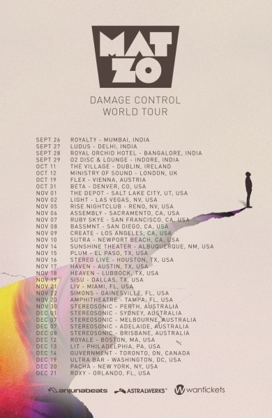 Mat Zo Damage Control Tour