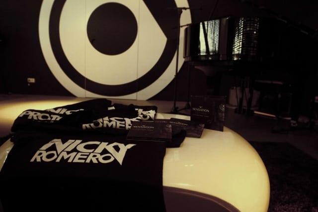 Enter To Win Signed Nicky Romero Shirt & CD