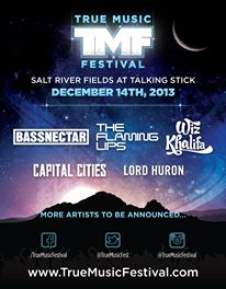 Enter to Win 2 Tickets To True Music Festival in Arizona on Dec. 14th