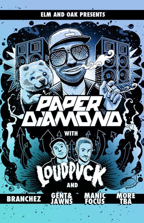 2014 Paper Diamond tour