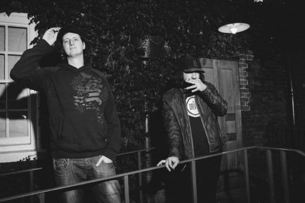 From Left: Prolix, Gridlok (Photo Credit: Chelone Wolf)