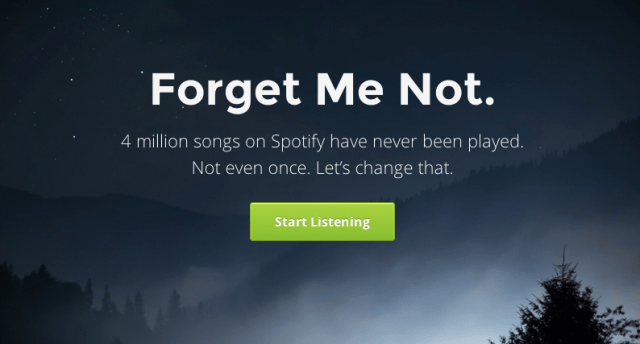Now You Can Listen To The Songs No One Has With Forgotify
