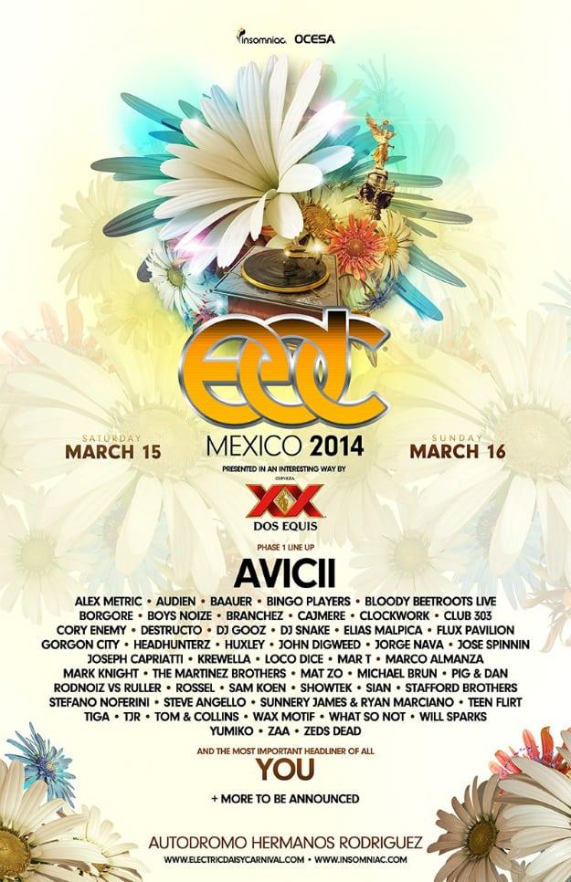 EDC Mexico 2014