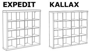 Kallax Vinyl Record Collection Storage Unit Edm Sauce