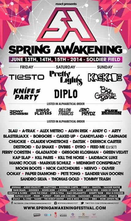 Spring Awakening Music Festival Lineup Announced + Groupon Deal