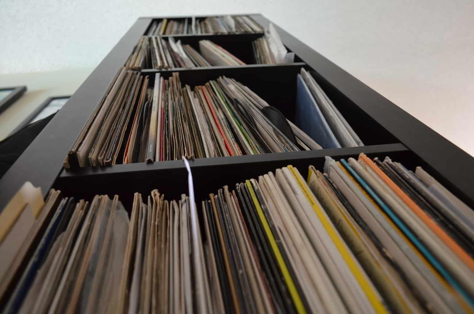 Kallax Vinyl Record Collection Storage Unit Edm Sauce