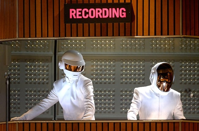 This Is The Video for Daft Punk's GRAMMY Rehearsal