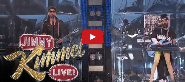 Chromeo Performs on Jimmy Kimmel Live
