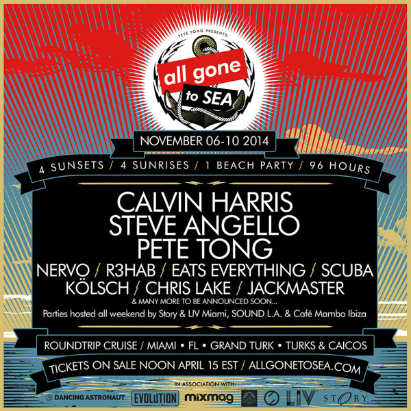Pete Tong All Gone To Sea