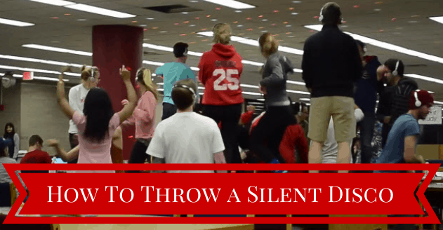 This Is How You Throw a Silent Disco In The Library During Finals Week