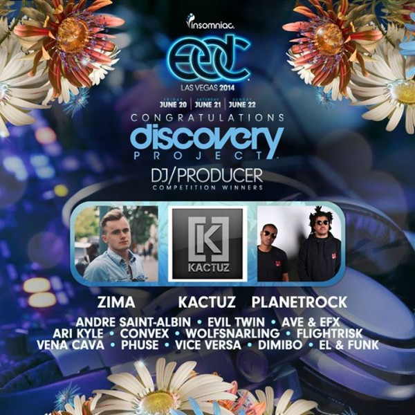 Discovery Project EDC Las Vegas