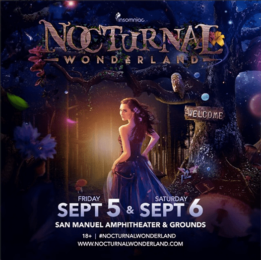 Nocturnal Wonderland Will Return to San Miguel Amphitheatre