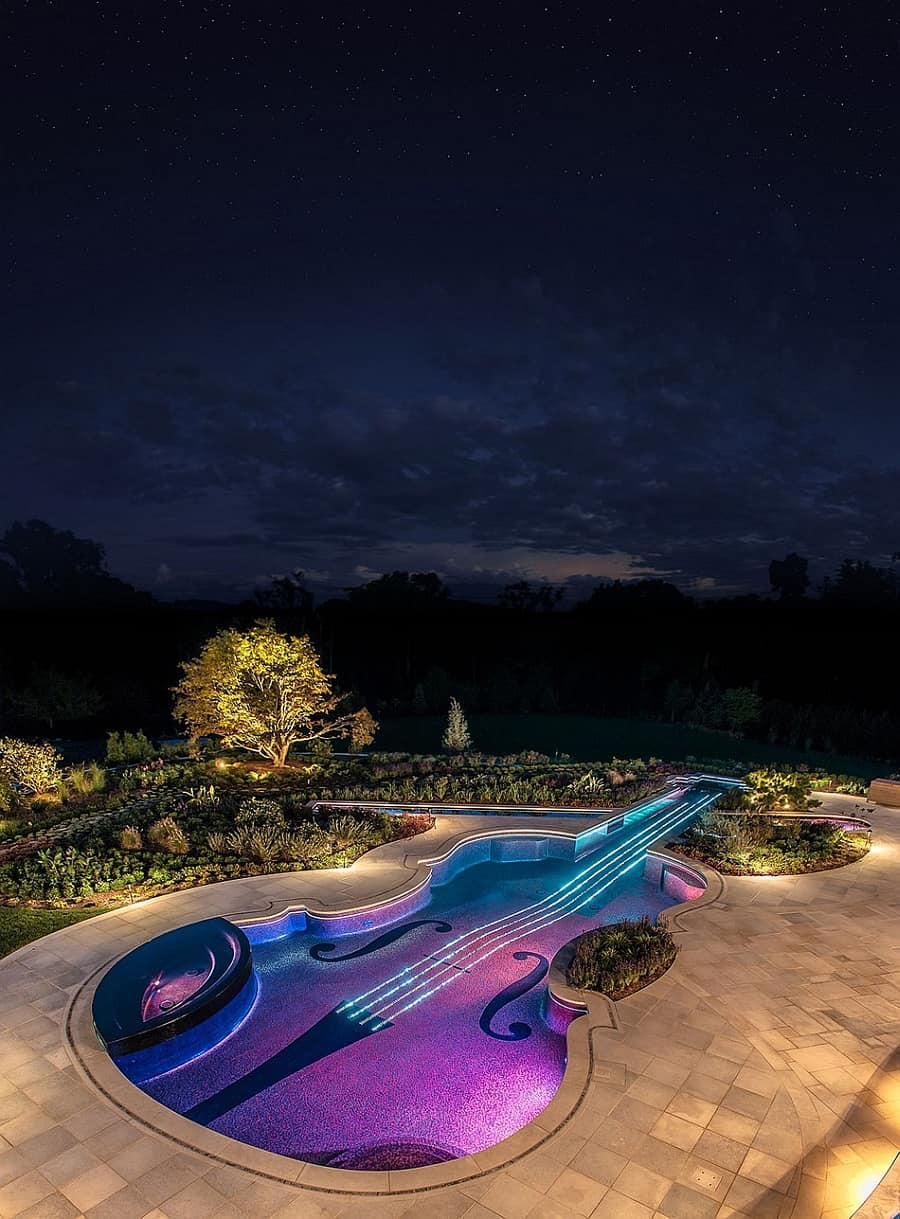 You Need To See This Violin Shaped Pool