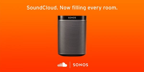 SoundCloud Partners With Sonos, Now Filling Every Room