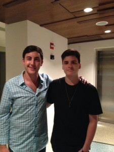 Tyler and Nate (Audien)