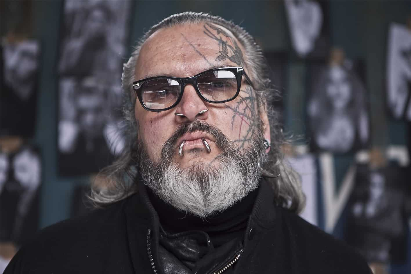 Berghain Bouncer Sven Marquardt Photographs for Hugo Boss