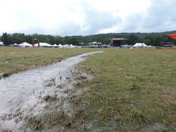 River From Main Stage