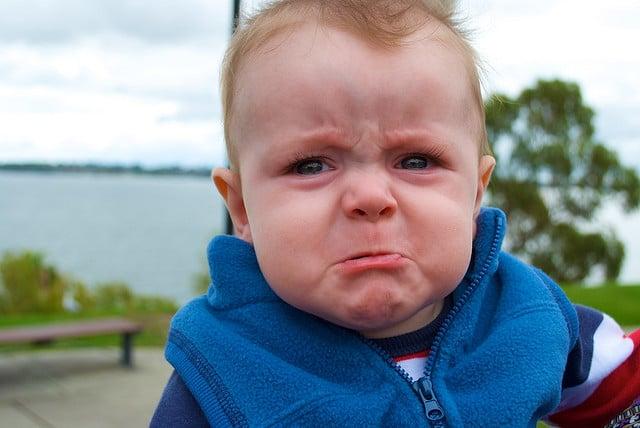 rage sad baby
