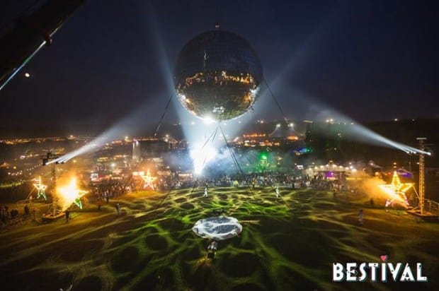 Bestival Wins Guinness World Record For Largest Disco Ball