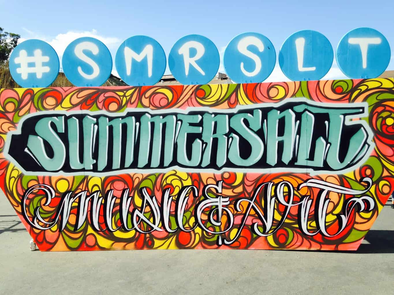 Summersalt Sign