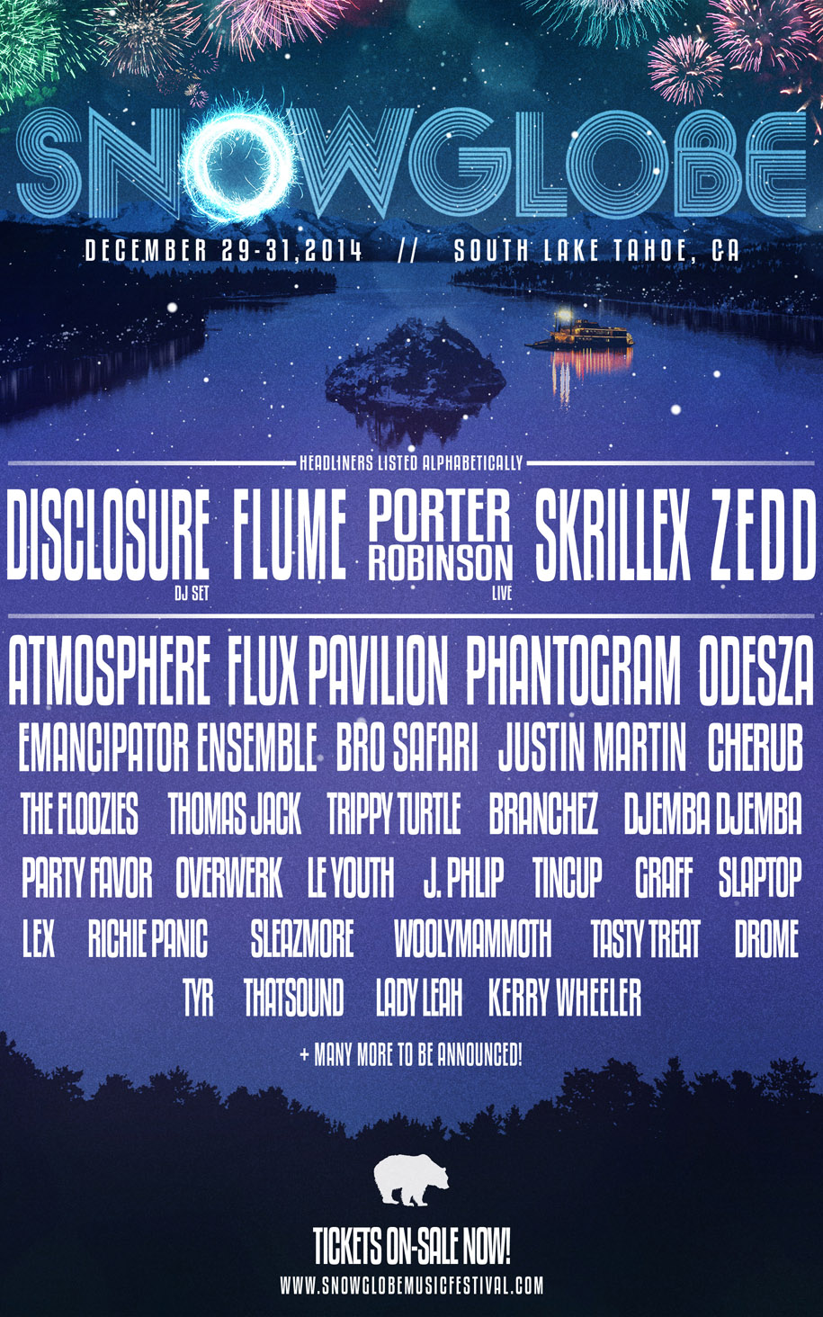 SnowGlobe Music Festival Releases 2014 Lineup