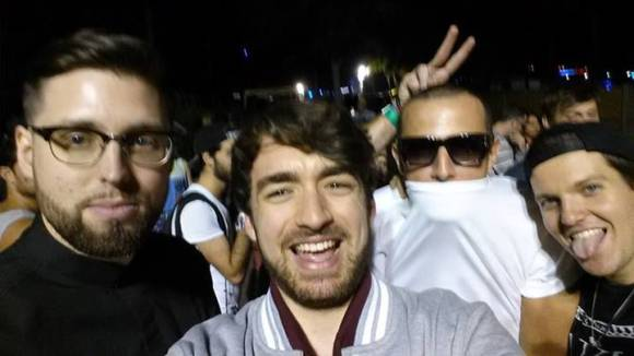 Tchami and Oliver Heldens (On Left)