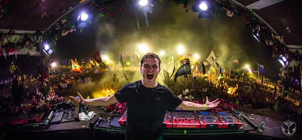 Martin Garrix at TomorrowWorld 2014