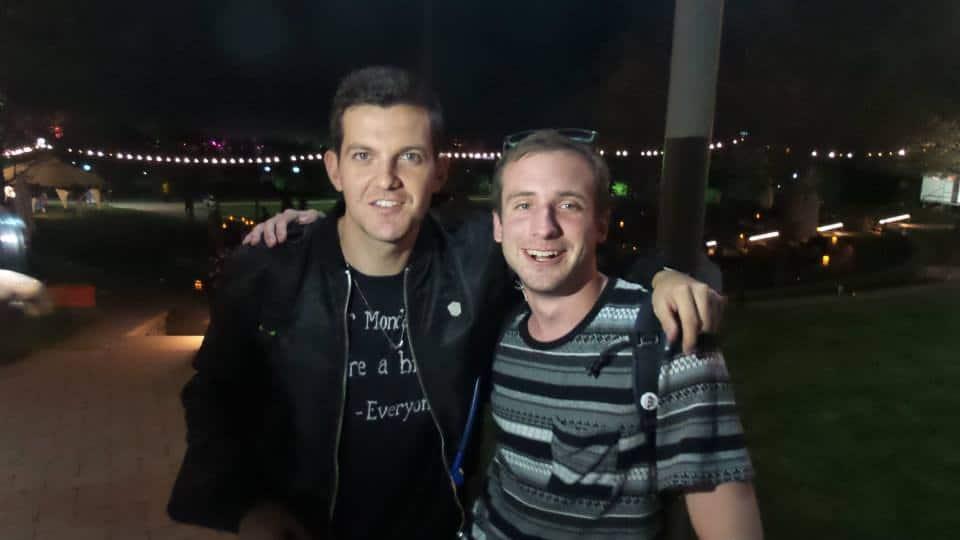 Me and Dillon Francis at Mysteryland 2014!