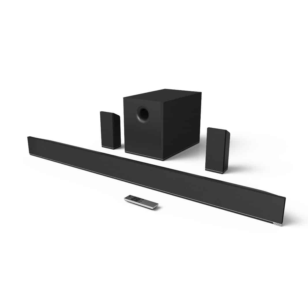 VIZIO S5451w-C2 54-Inch 5.1 Home Theater Sound Bar with Wireless Subwoofer and Surrounds