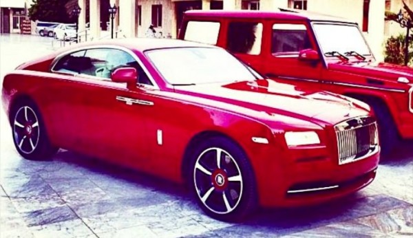Tiesto Just Bought This Bright Red Rolls-Royce Wraith