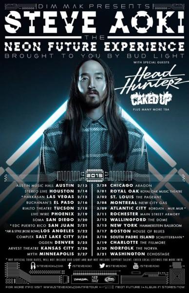 Steve Aoki Neon Future Tour
