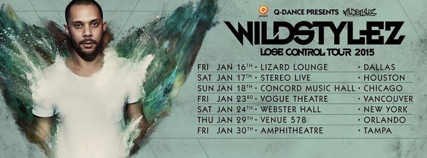 Wildstylez tour photo