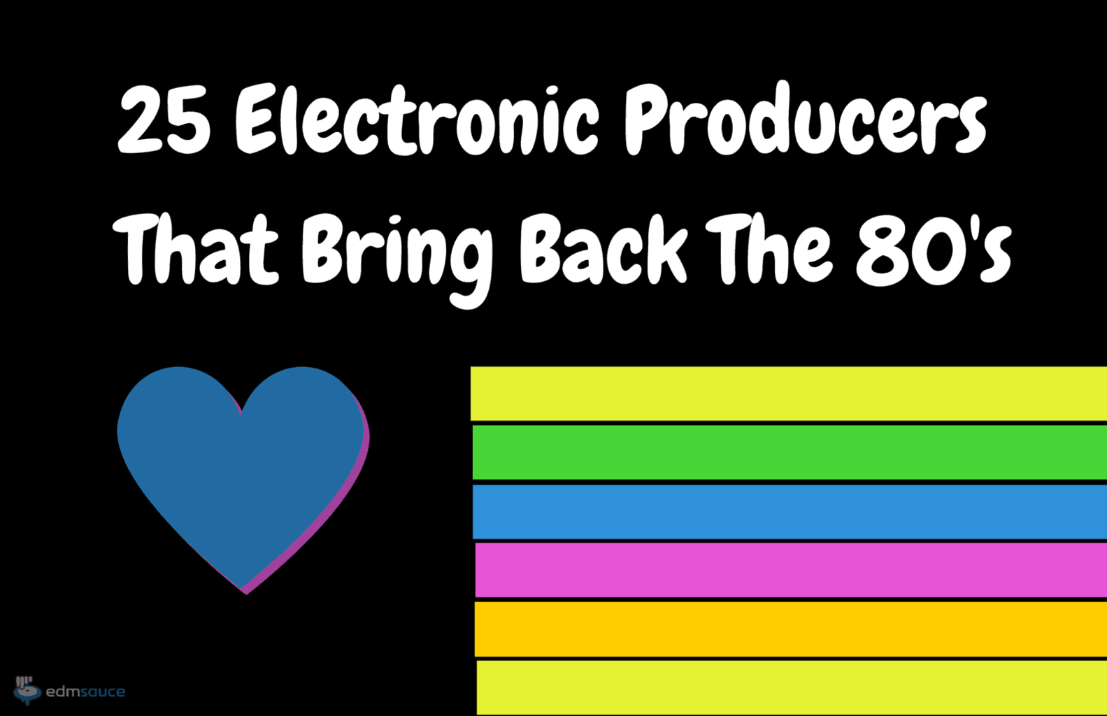 25 EDM Producers That Bring Back The 80s