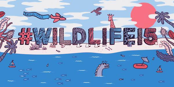 WILDLIFE festival banner