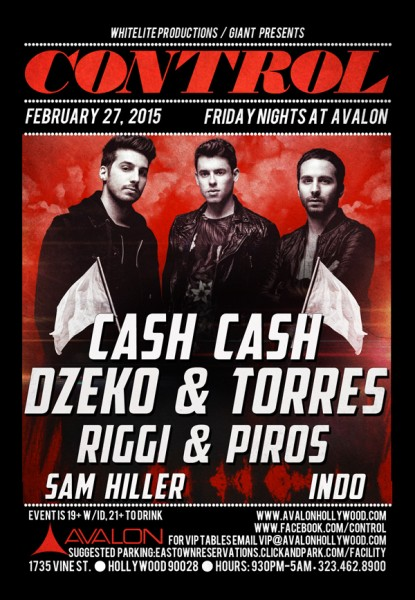 Cash Cash At The Avalon
