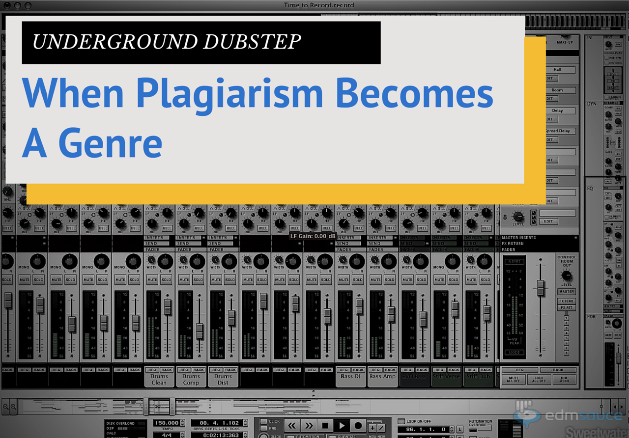 Underground Dubstep: When Plagiarism Becomes a Genre