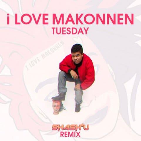 I Love Makonnen Tuesday Album Cover