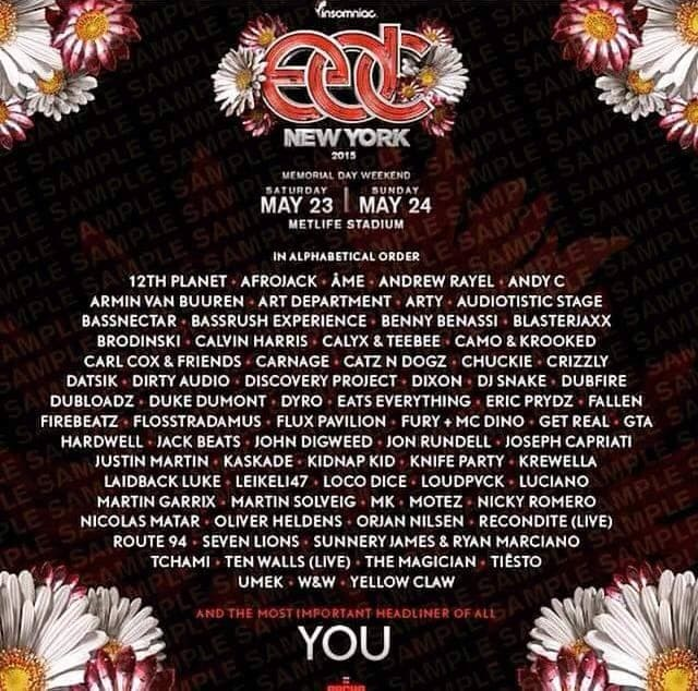 Insomniac Releases Edc Ny Puzzle Lineup Leaks