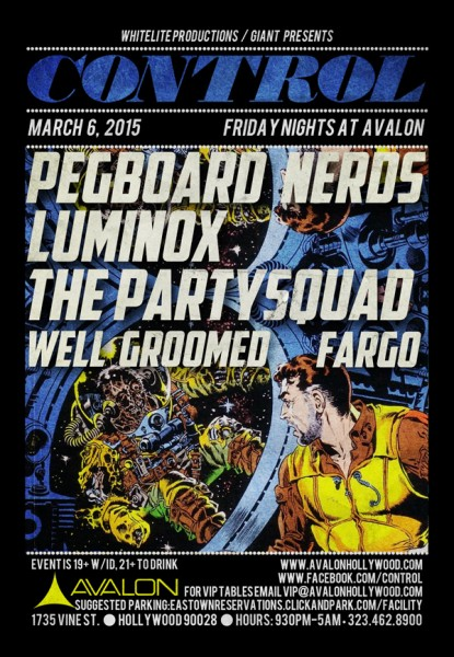 Pegboard Nerds At Avalon Hollywood