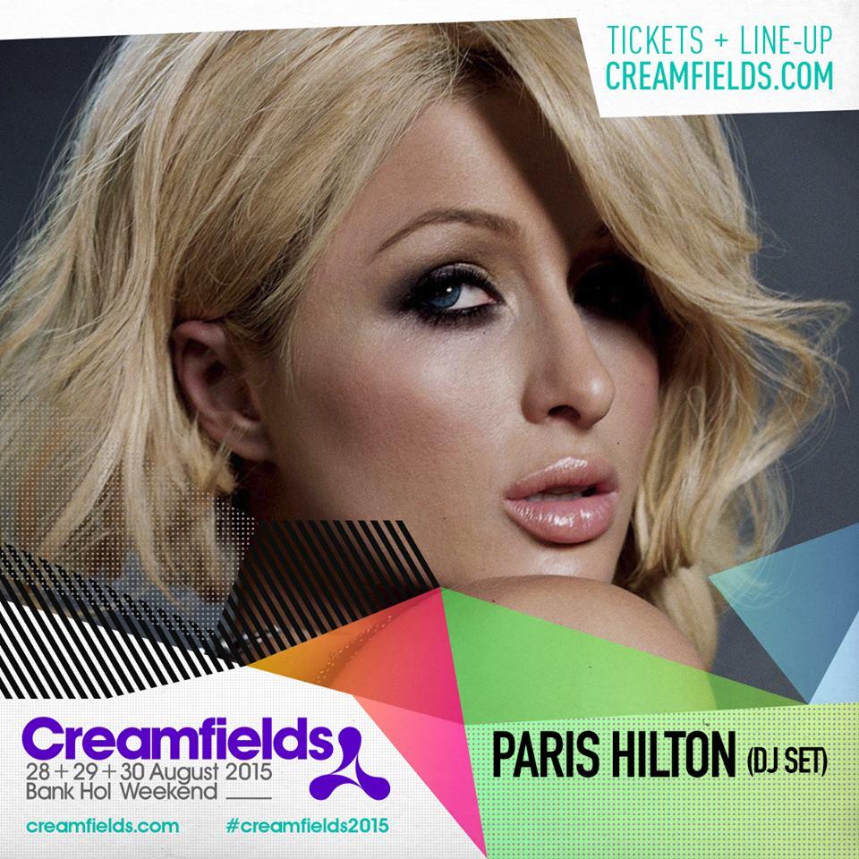 Creamfields Paris Hilton