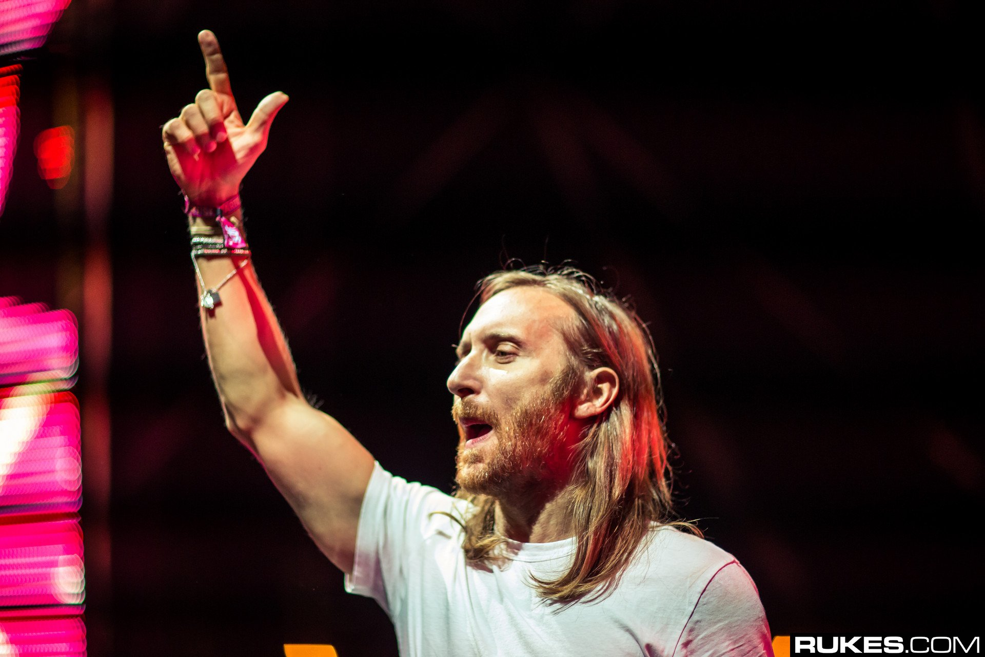 David Guetta Opened Up His Ultra 2019 Main Stage Set With A Booming