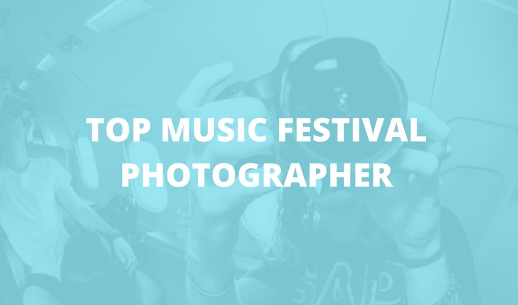 top music festival photographer