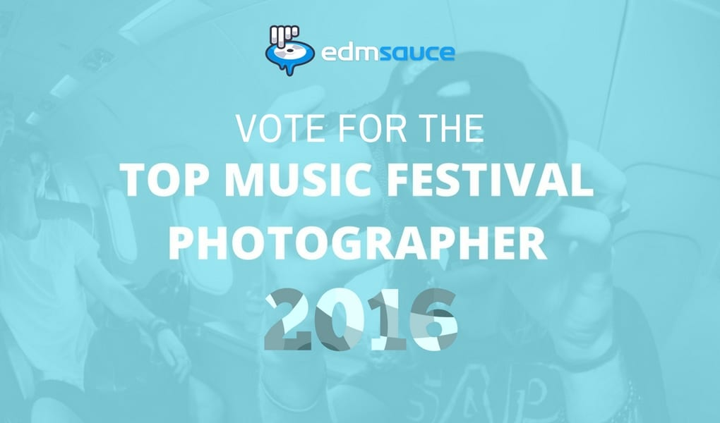 top music festival photographer of 2016