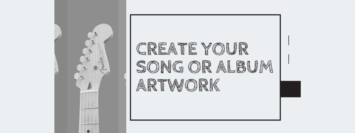 Create your song or album artwork